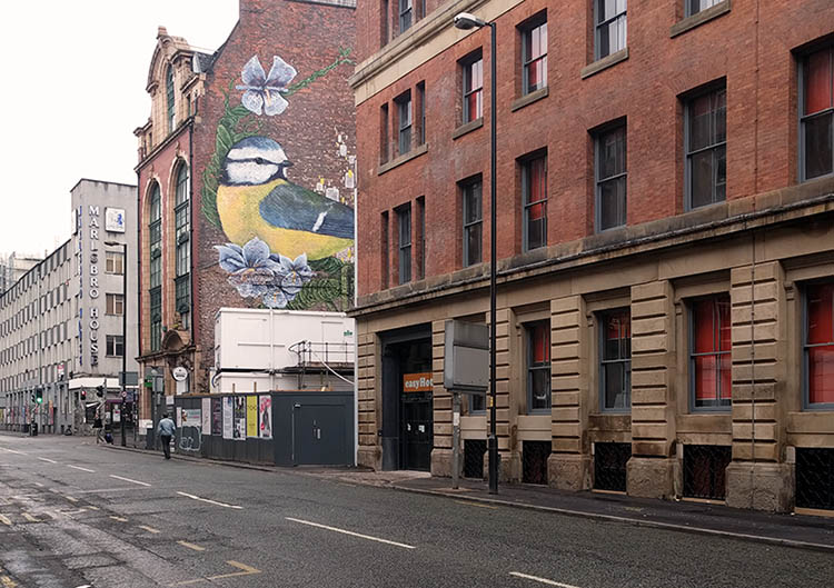 northern quarter graffitti